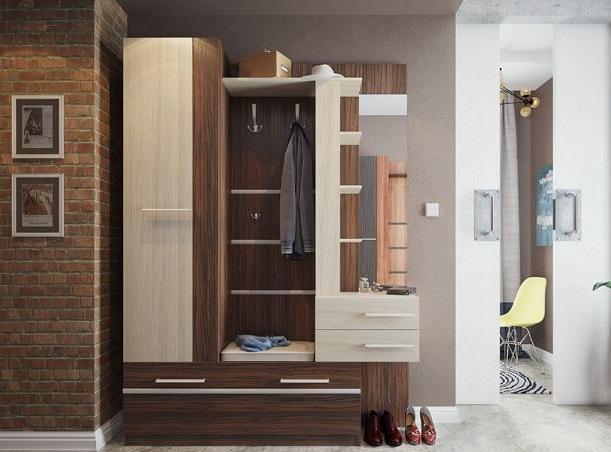 Мебельные решения для прихожей